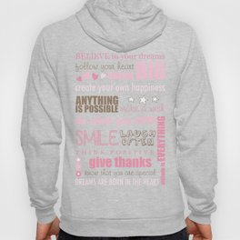 Quote Collage Hoody