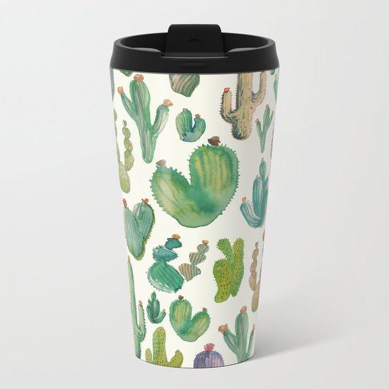 Cactus Collab. Metal Travel Mug