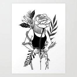 Let me bloom Ⅱ Art Print