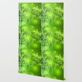 Bambus im Morgenlicht Wallpaper