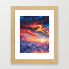 Eternal shining Framed Art Print
