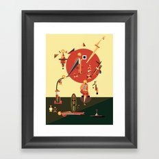 tishbite Framed Art Print