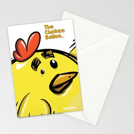 THE CHICKEN BALLON... Stationery Cards
