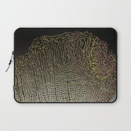 Purple Sea Fan II Laptop Sleeve
