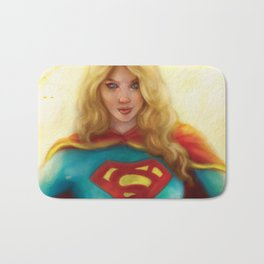 Supergirl Bath Mat