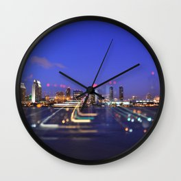 All Of The Lights Wall Clock