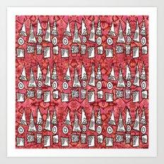 lil triangles Art Print