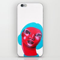 bubble iPhone & iPod Skins featuring BUBBLE by Zelda Bomba