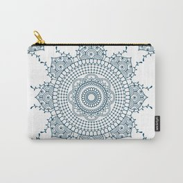 Mandala in Indian Ink #4 Carry-All Pouch