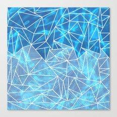 Blissful Rays Canvas Print