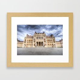 Budapest Parliament Framed Art Print