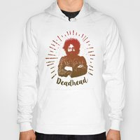 grateful dead Hoodies featuring Grateful Dead, Jerry Garcia by Burnish and Press
