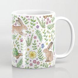 Spring Time Tortoises and Hares Coffee Mug