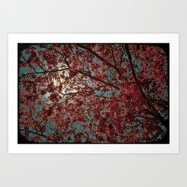PINKY TREE Art Print