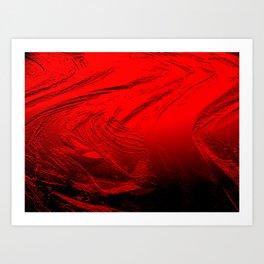 Colour of Passion Art Print