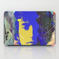 bob dylan iPad Cases featuring bob dylan by manish mansinh