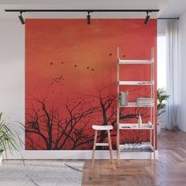 Die Vögel Wall Mural
