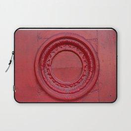 Red Circle Laptop Sleeve