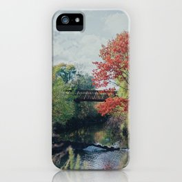 Valley at School iPhone Case