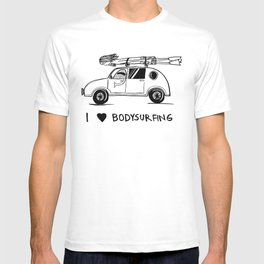 I HEART BODYSURFING T-shirt