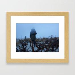 Sea Fog Framed Art Print