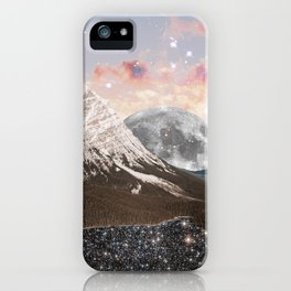 Moonset iPhone Case