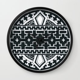 Geometric like mandala thing Wall Clock