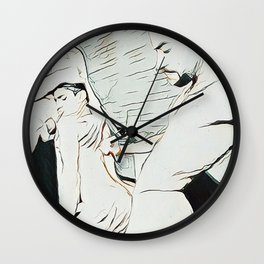 SEXERCISE Wall Clock