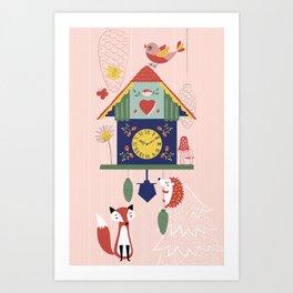 Cuckoo Wonderland Art Print