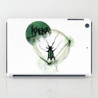kafka iPad Cases featuring Kafka Hommage by Hellbunt