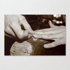 Nails Canvas Print