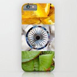 Healthy India Flag design iPhone Case