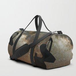 Radio Telescopes and Milky Way Duffle Bag