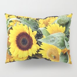 Happy Sunflowers Pillow Sham
