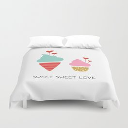 Ice Cream lovers Duvet Cover