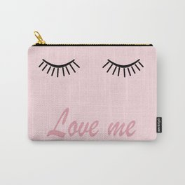 Love me #love #pink Carry-All Pouch
