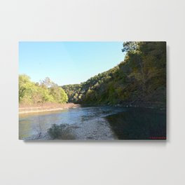 Where Canoes and Raccoons Go Series, No. 9 Metal Print