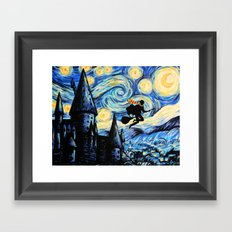 Potter Starry Night Framed Art Print