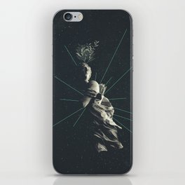 Marbled Dignity iPhone Skin