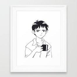 SHINJI 02 Framed Art Print