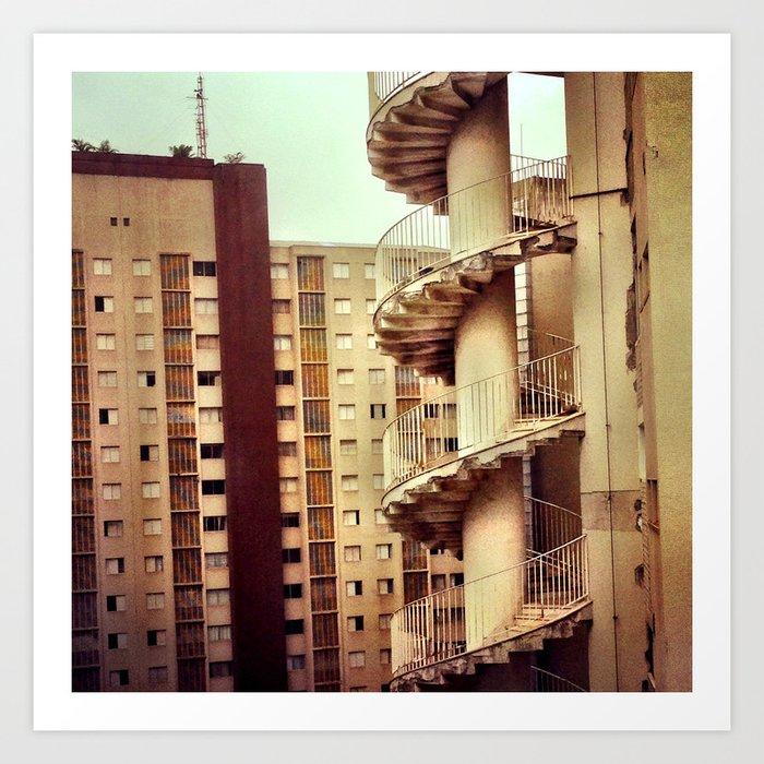 Niemeyer. Saö Paùlo. Kunstdrucke