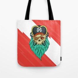 Pixel Pirate Tote Bag