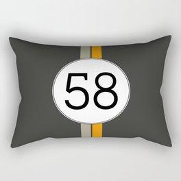 Rally 58 Rectangular Pillow