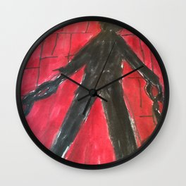 The Monster (Prisoner) Wall Clock