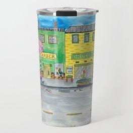 Happy Town Travel Mug