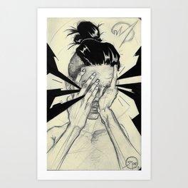 004 Hands Art Print