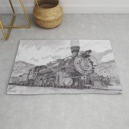 Durango and Silverton Steam Engine Rug