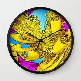 AUTOMATIC WORM 2 Wall Clock