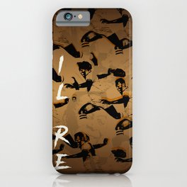 il re de futbol iPhone Case