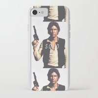 han solo iPhone & iPod Cases featuring Han / Solo by Earl of Grey